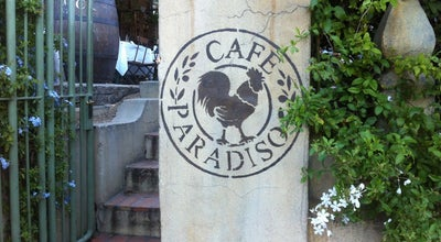 Photo of Mediterranean Restaurant Cafe Paradiso at 110 Kloof Street, Gardens 8001, South Africa